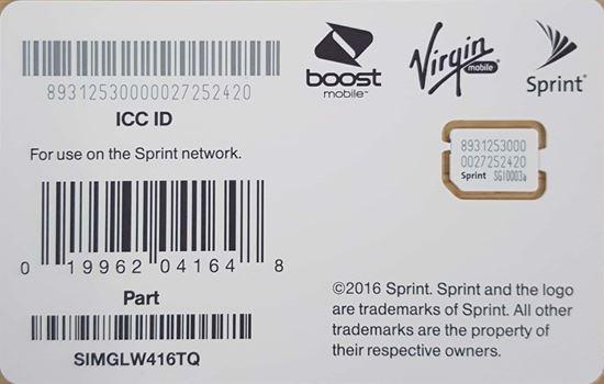 Imagen de NEW NANO - SIM FOR IPHONE XS, XR, XS MAX (GLW416TQ)